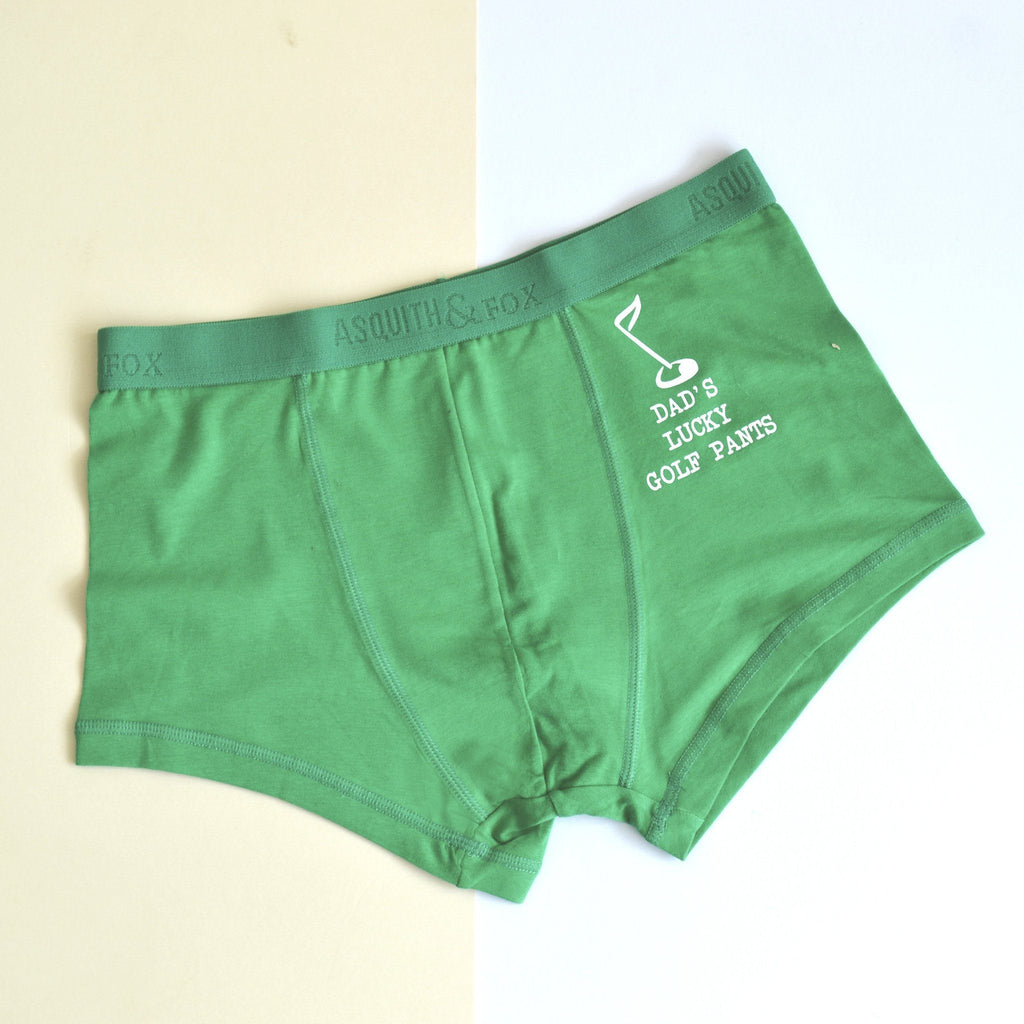 Personalised Lucky Golf Underwear, underwear, - ALPHS