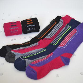 Personalised Ski Socks, Socks, sport, - ALPHS