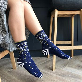 You're a Star Patterned Slogan socks, Socks, - ALPHS