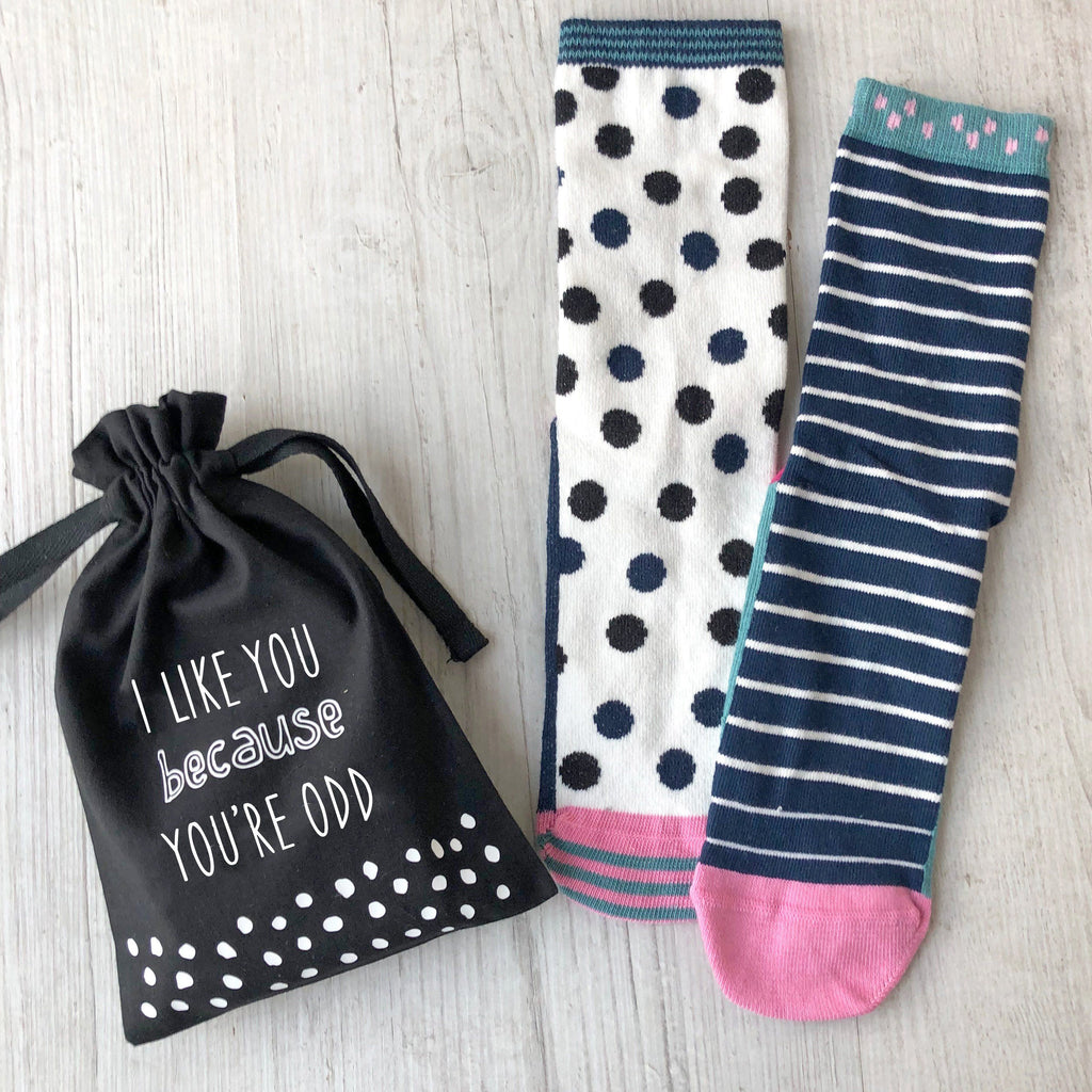 Because You're Odd Socks in a Bag, Socks, - ALPHS