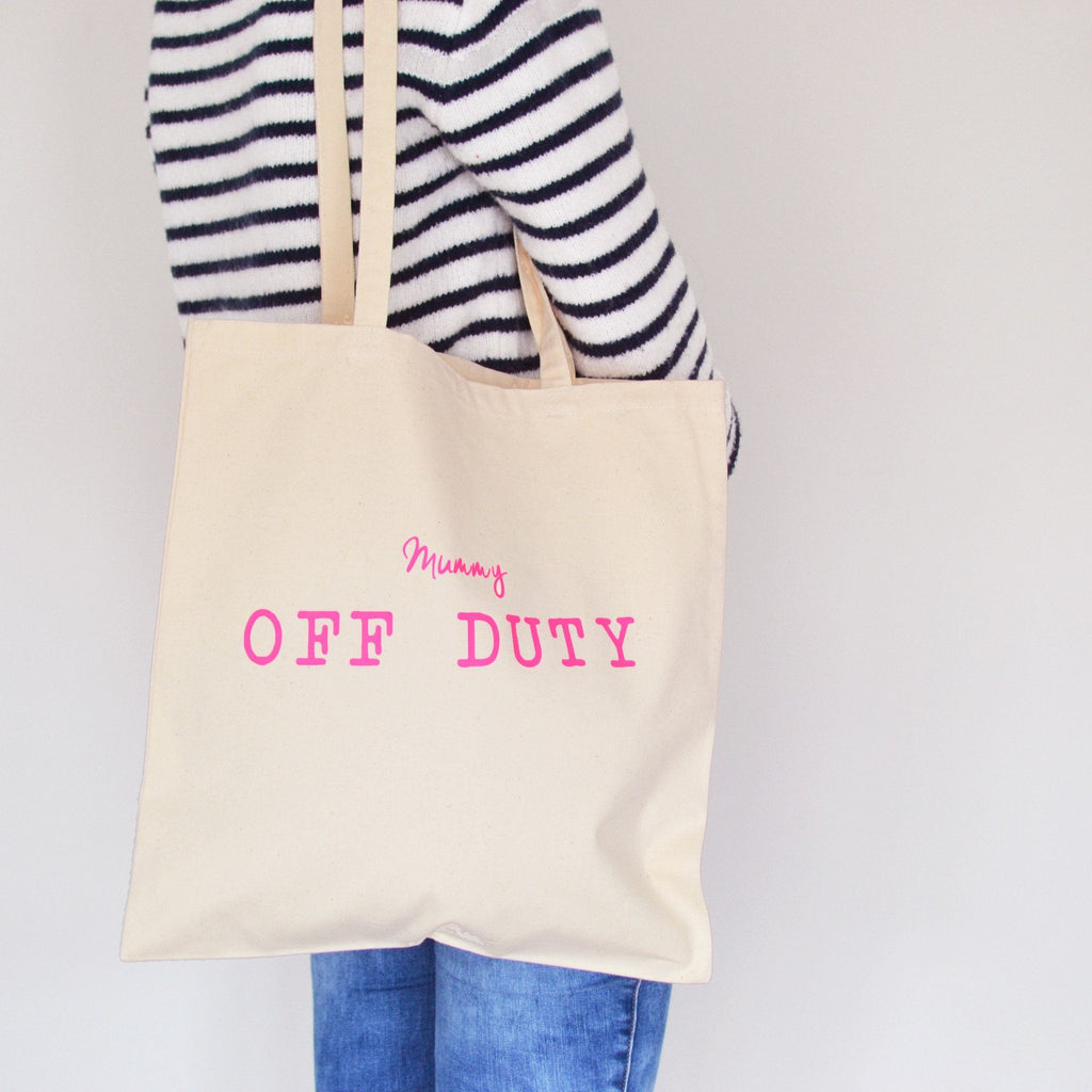 Neon Off Duty Tote Bag, bag, - ALPHS