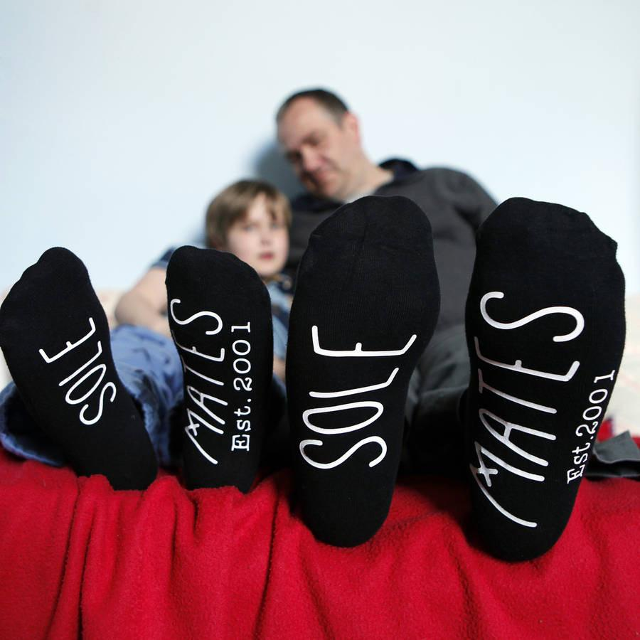 Father And Child Sole Mate Set Of Socks, Socks, - ALPHS