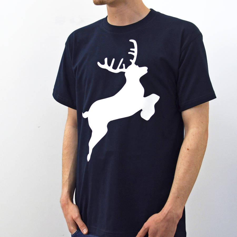 Men's Stag T-Shirt, t-shirt, - ALPHS