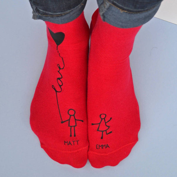 Personalised Gift Socks - Me And You - ALPHS