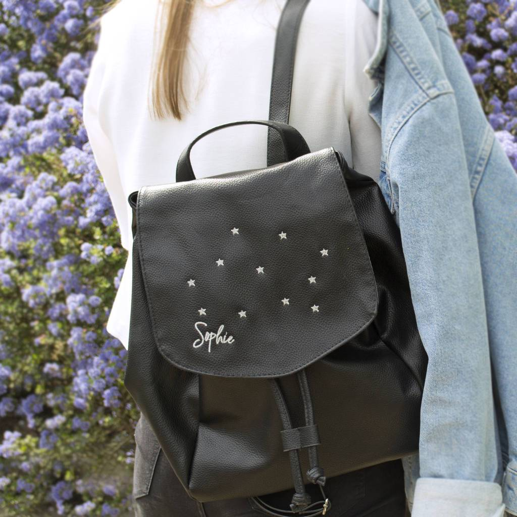 Personalised Star Constallation Backpack