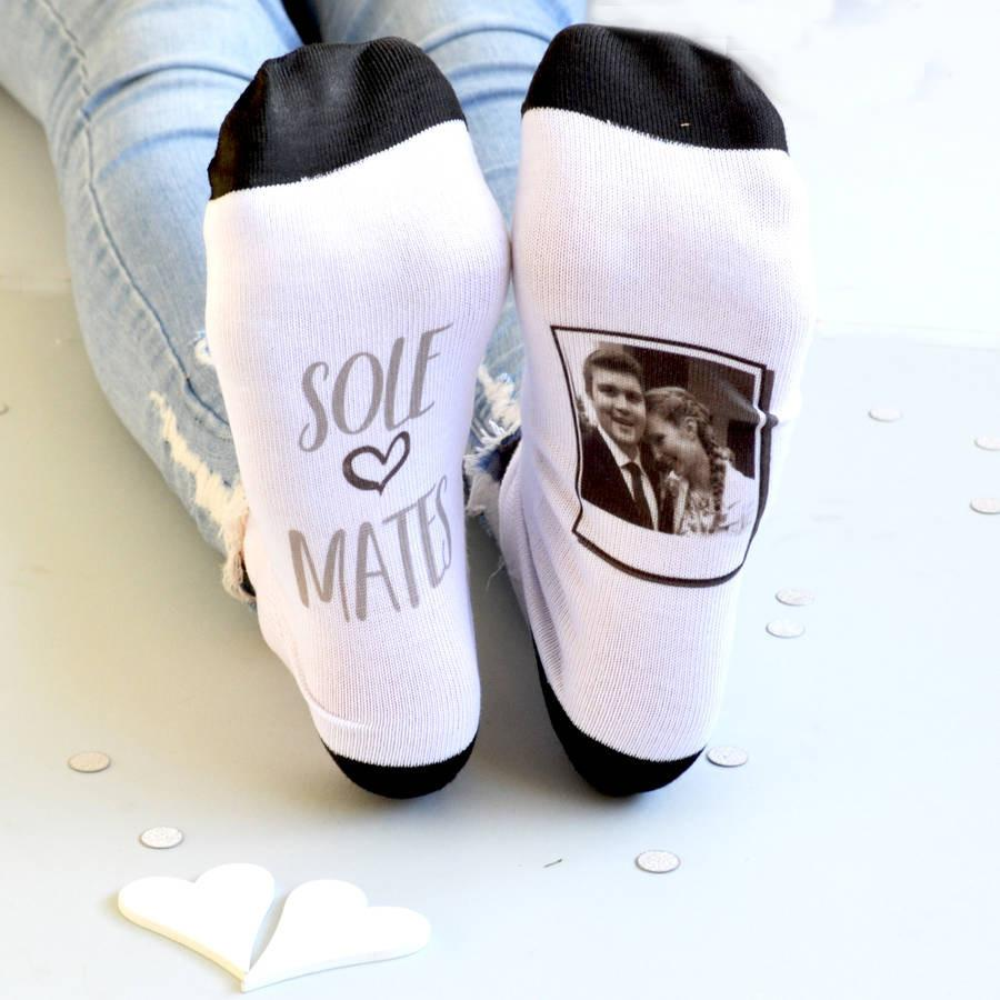 Personalised Gift Photo Socks - Sole Mates, socks, - ALPHS