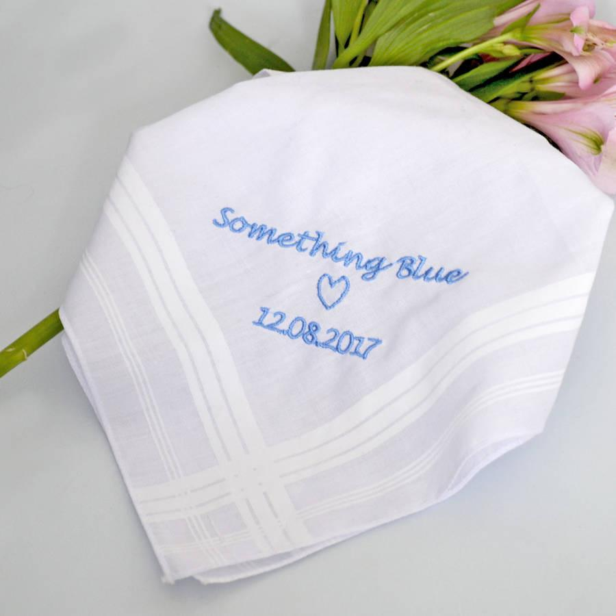 Personalised Handkerchief, Accessories, - ALPHS