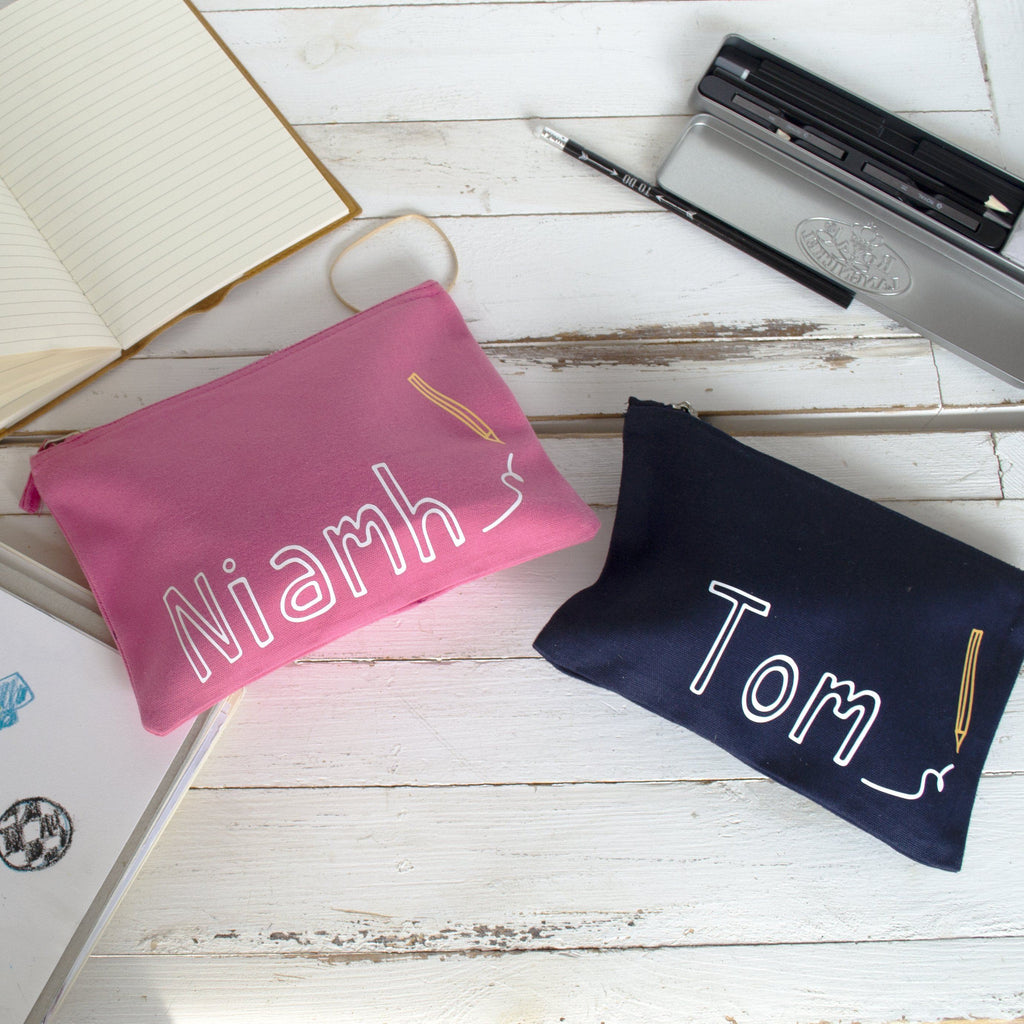 Personalised Children's Pencil Case, , - ALPHS