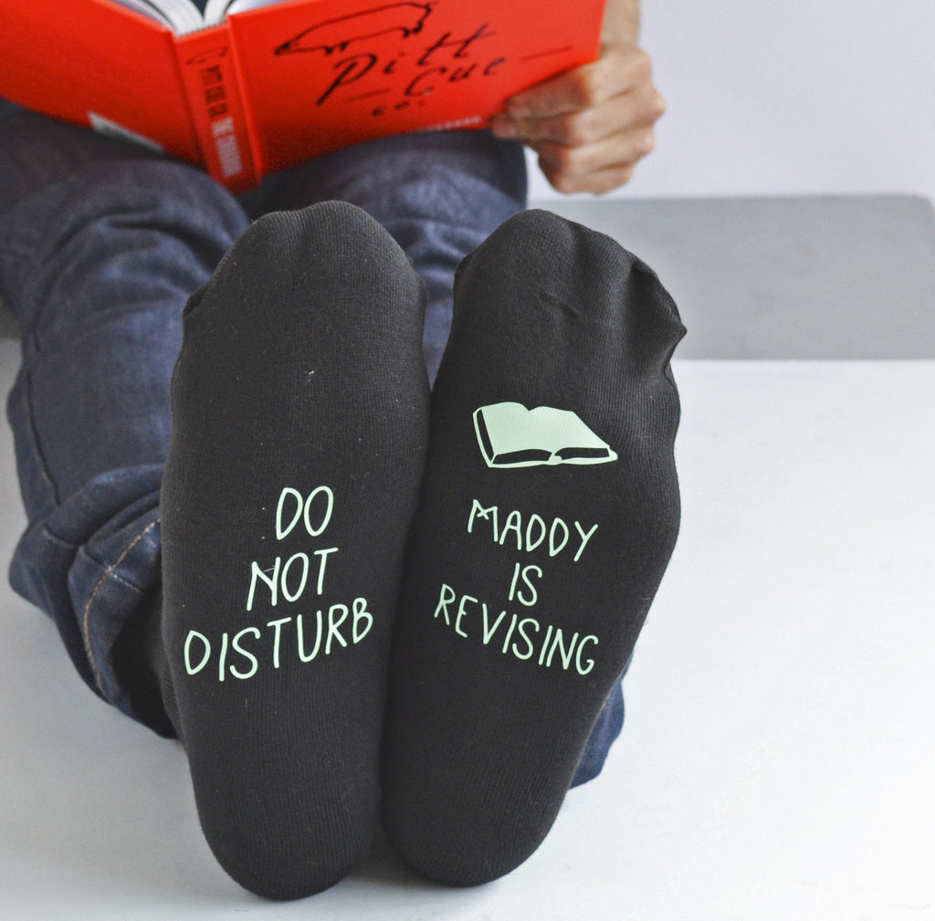Personalised Revision Socks, socks, - ALPHS