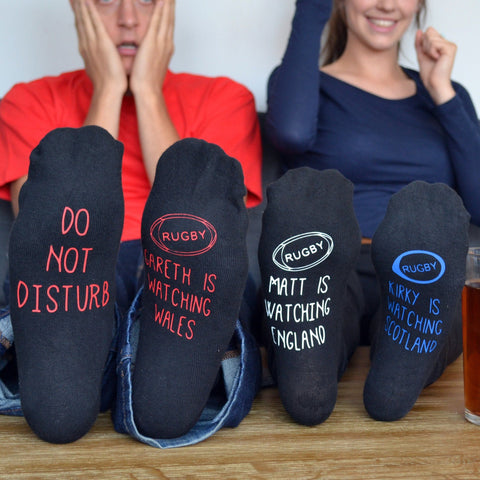 Do Not Disturb Rugby World Cup Socks - ALPHS  - 1