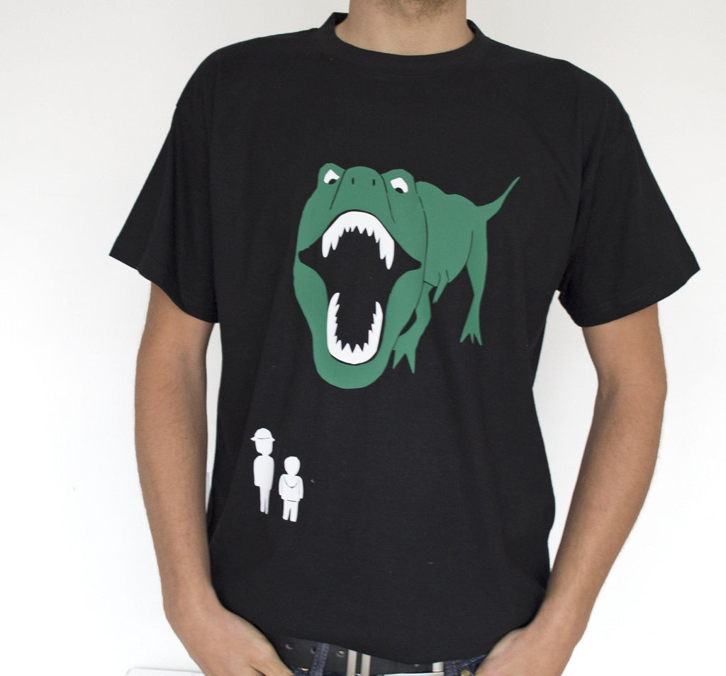 Jurassic Adventures Personalised Dinosaur T-Shirt, t-shirt, - ALPHS