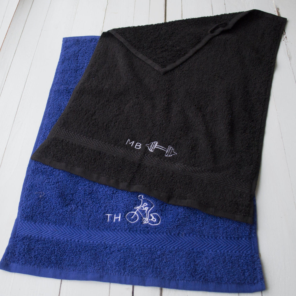 Personalised Sports Towel, Sport Towel, - ALPHS