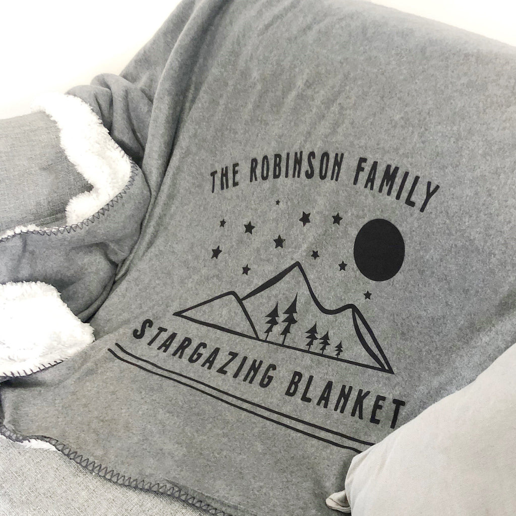 Personalised Stargazing Blanket