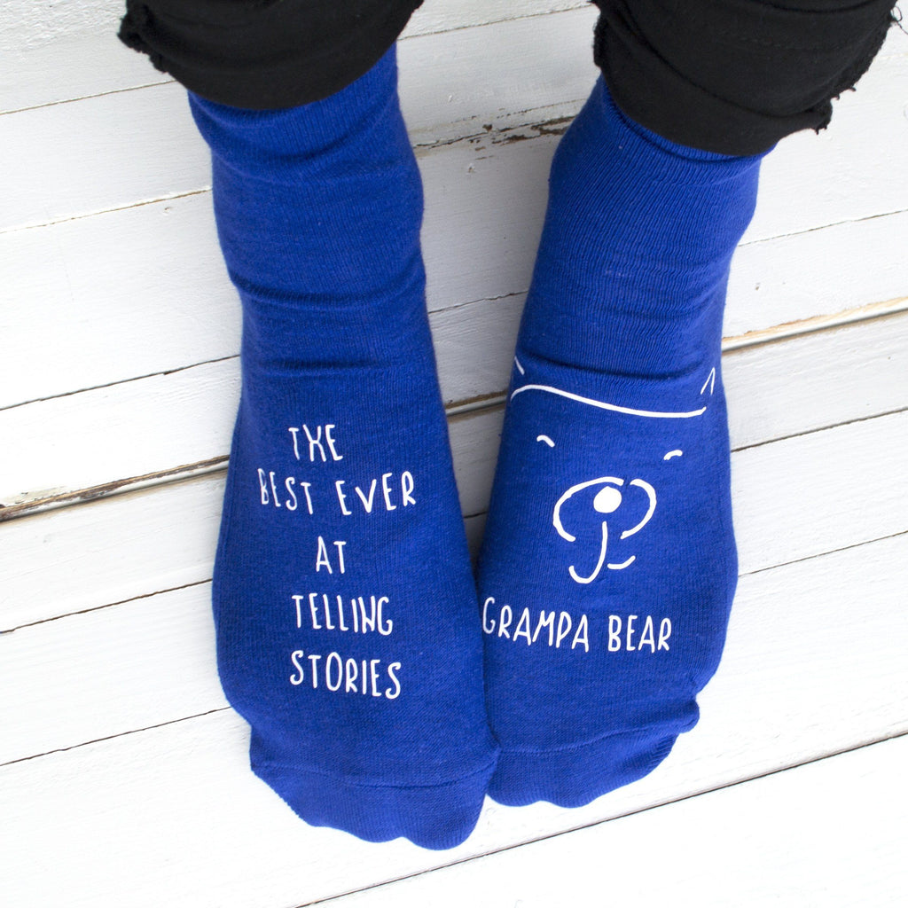 Telling Stories Personalised Socks, Personalised Socks, - ALPHS