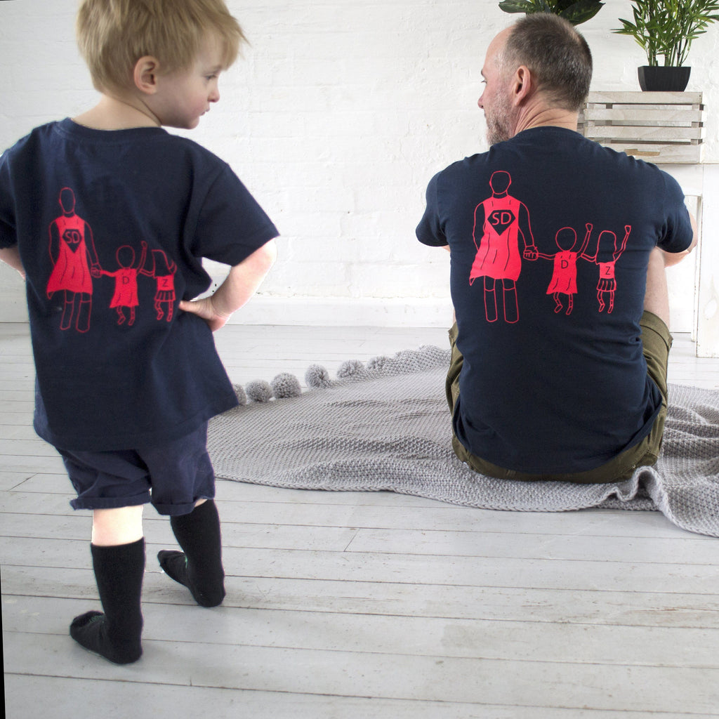 Superdad and Me Twinning T-shirt, t-shirt, - ALPHS