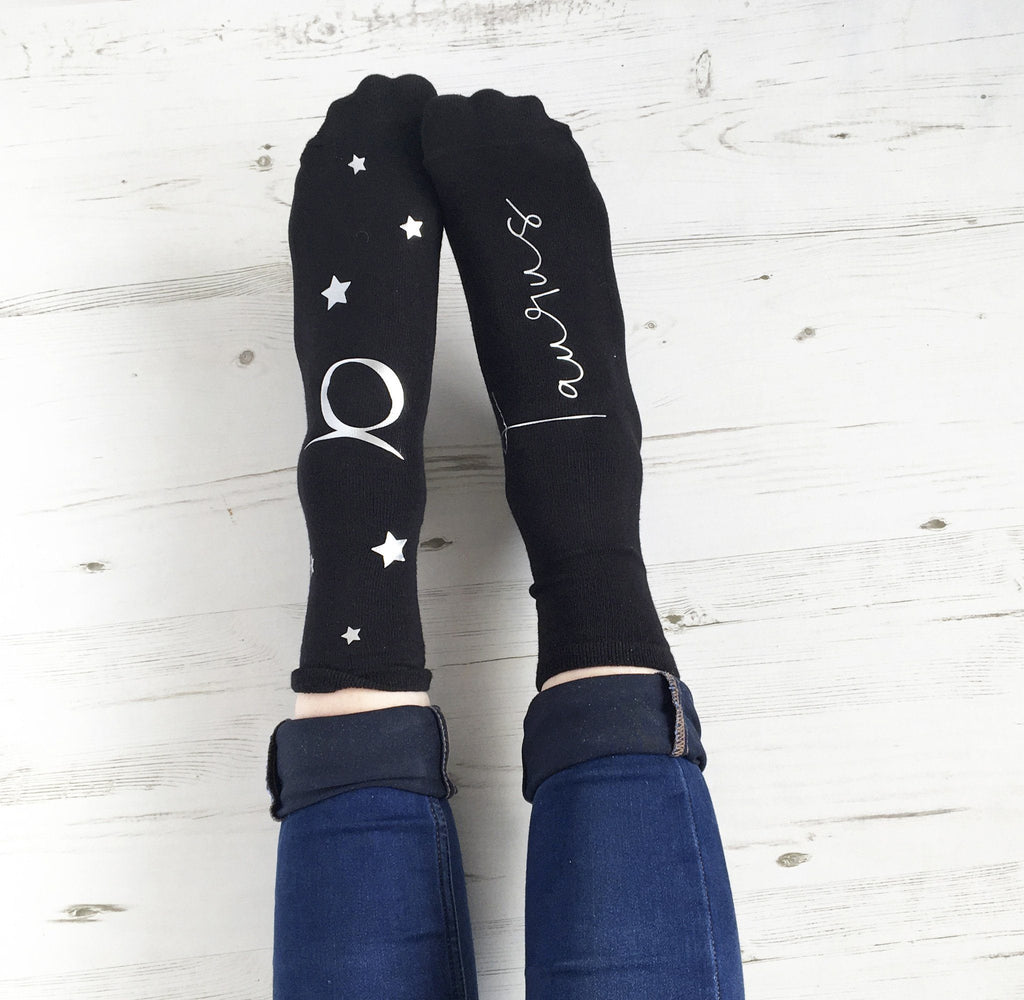 Star Sign Socks