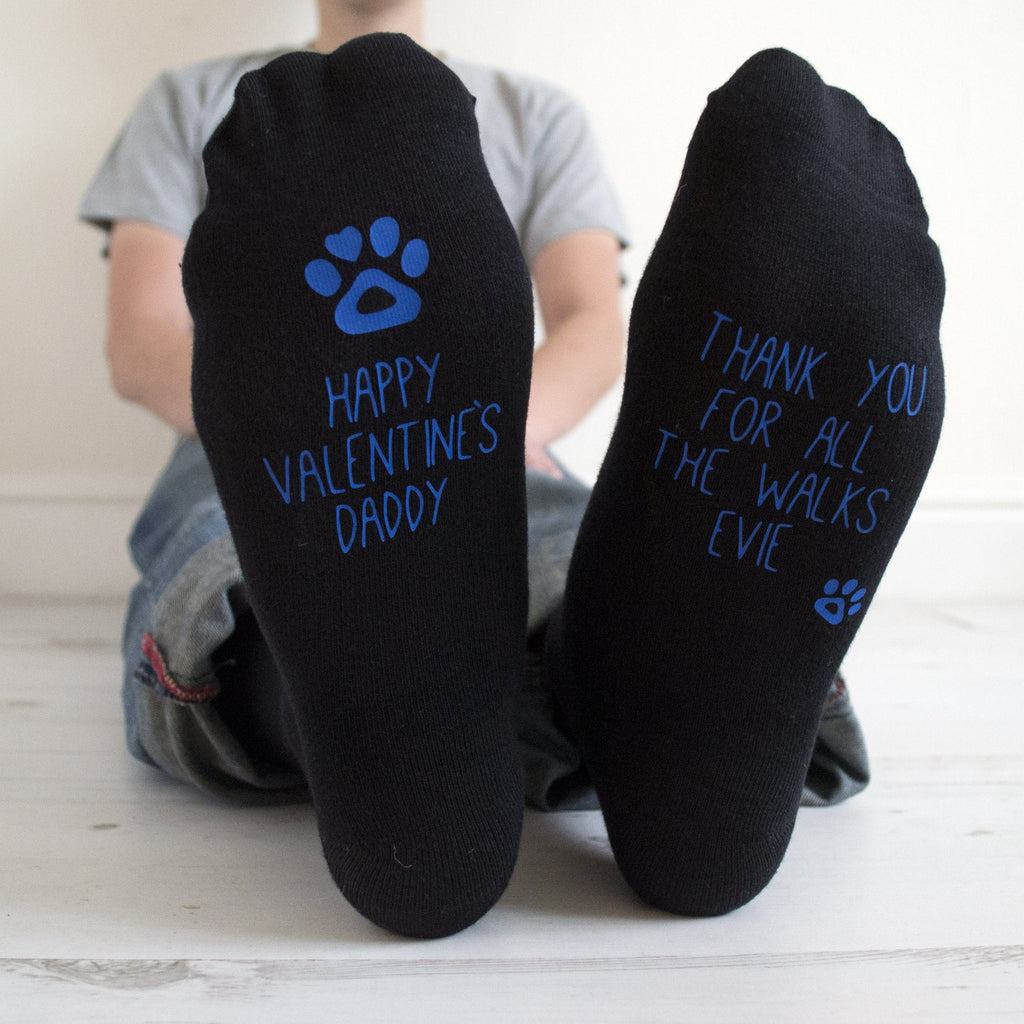 Valentine's Socks From The Dog, Socks, - ALPHS