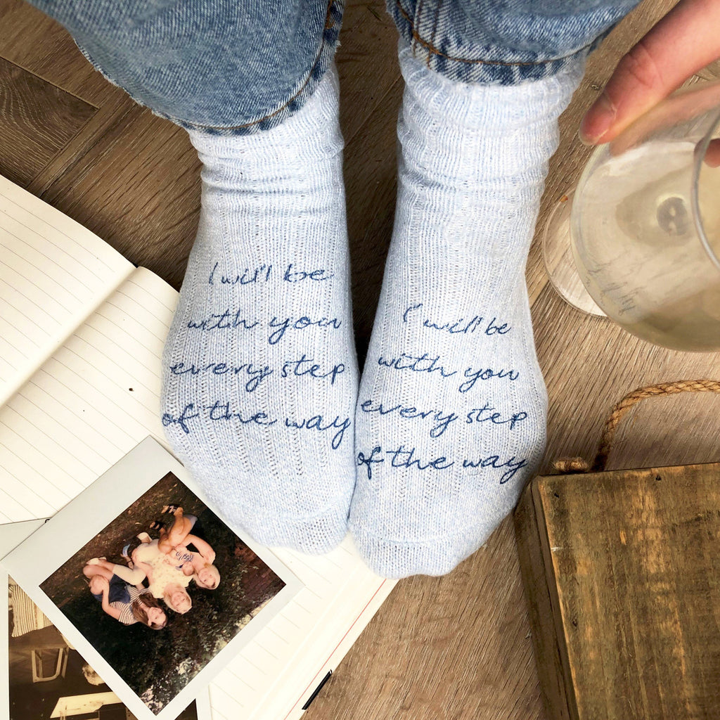 Personalised Thinking Of You Snug Socks, Socks, - ALPHS