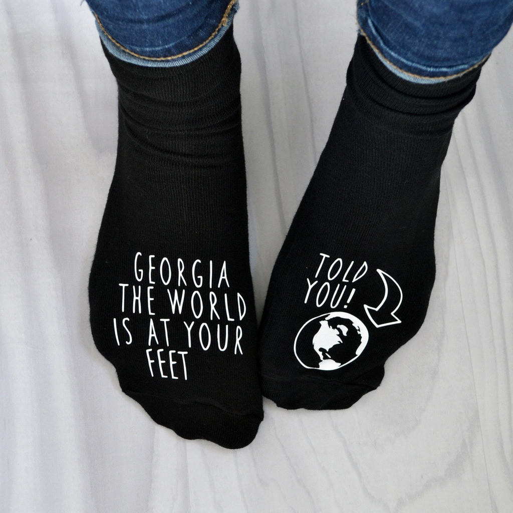World at Feet Exam Result Socks, Socks, - ALPHS