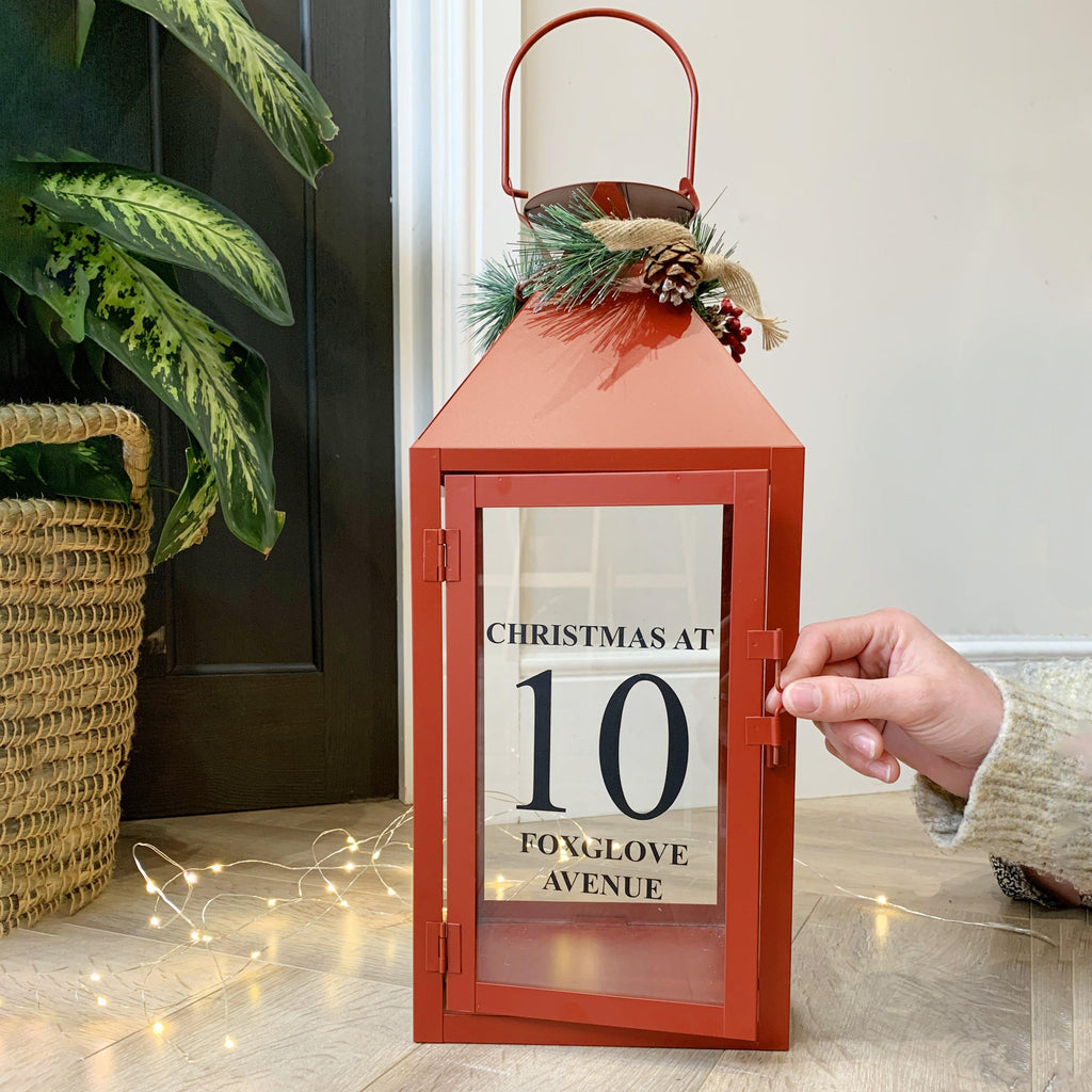 Personalised Family Christmas Lantern, Lantern, - ALPHS