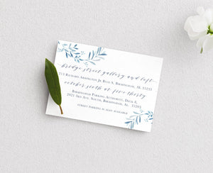 Customizable Anna Details Card Printing