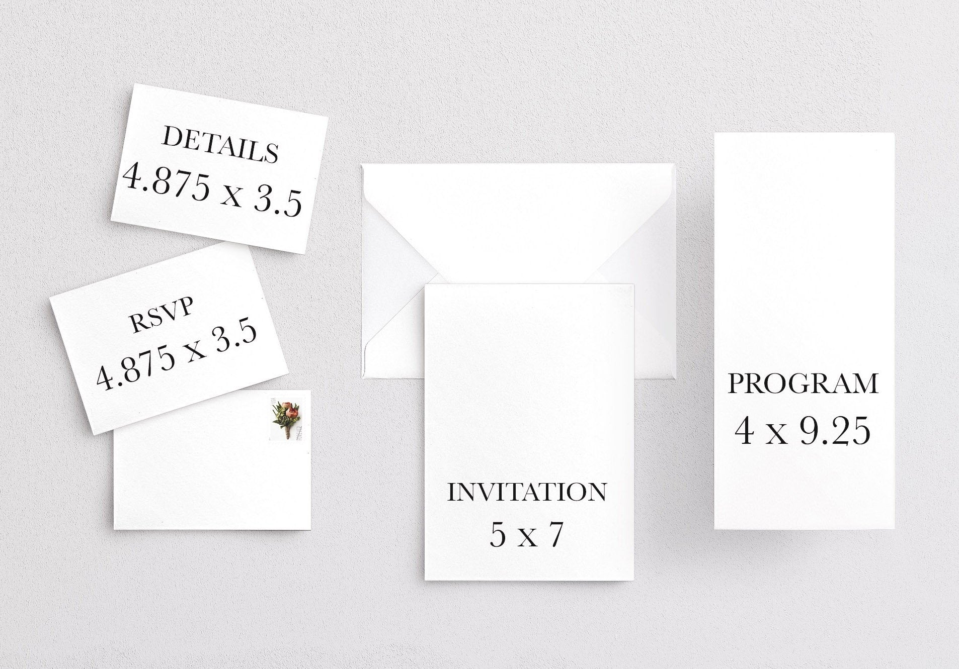 Customizable Anna Invitation FULL SUITE Printing
