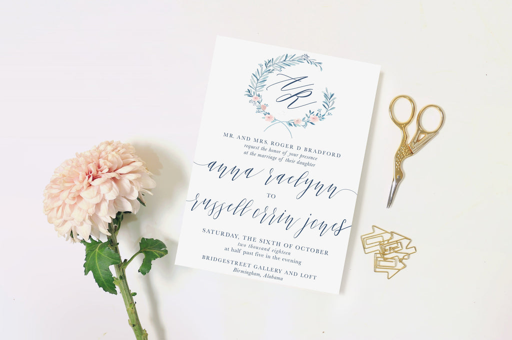 Erin C Invitation Suite Printing