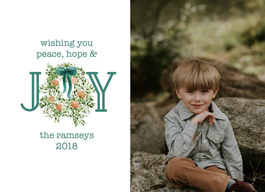 Southern JOY Christmas Card Design