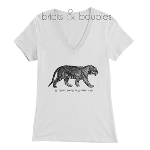 adult womens go tigers shirt