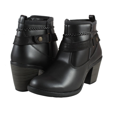 Botin Greenlove 98230 color negro