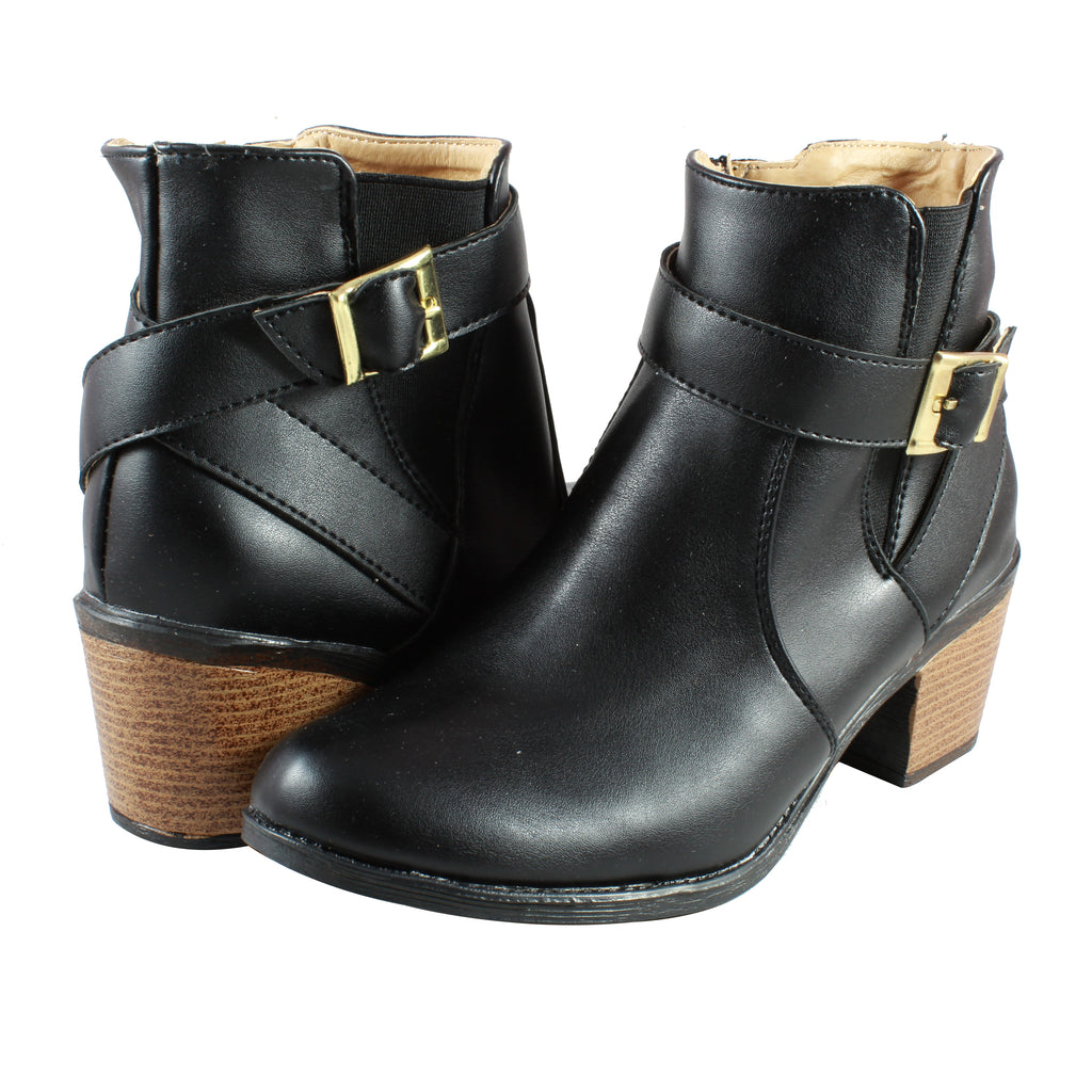 Botin Xochitl 1500 color negro