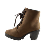 Botin Lady Paulina 71527 color capuchino