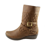 Botin Lady Mary 880 color coñac