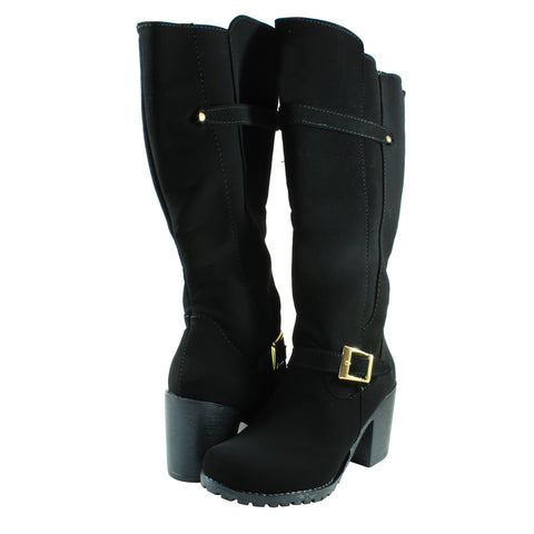 Bota Marely 303 color negro