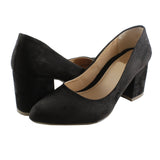 Zapatilla marca Top moda 6905 color negro