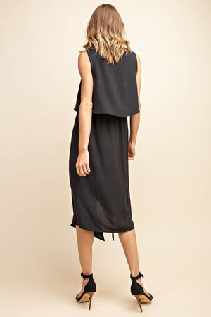 Like A Boss Midi Dress