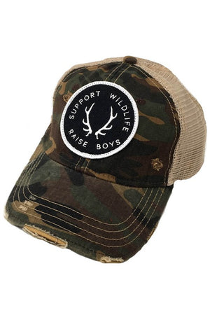 Support Wildlife Raise Boys by Judith March - Camo