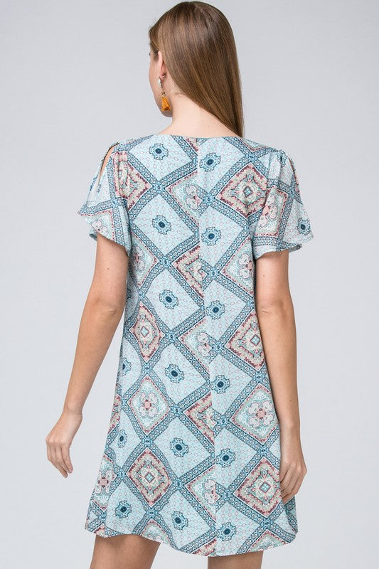 Old World Charm Mosaic Tile Dress