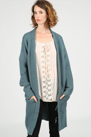 Hidden Pockets Cardigan