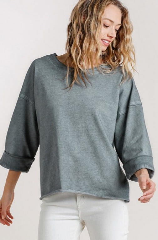 Magical Mineral Terry Top - Ash
