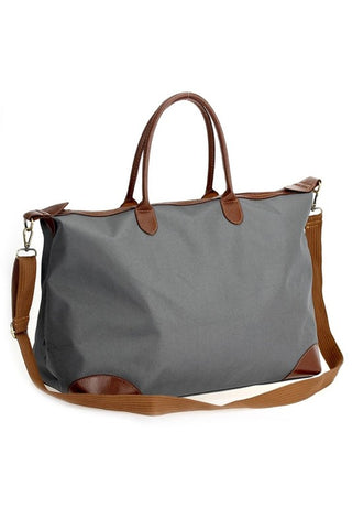 Take It All With Your Weekender Bag - Grey