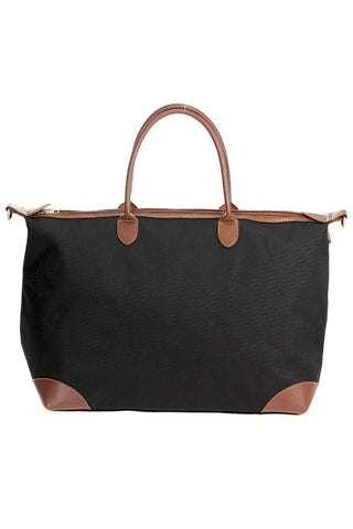 Take It All With Your Weekender Bag - Black