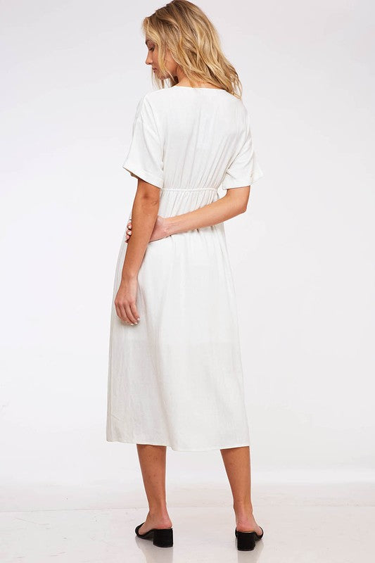 Knot Today Dress - Ivory