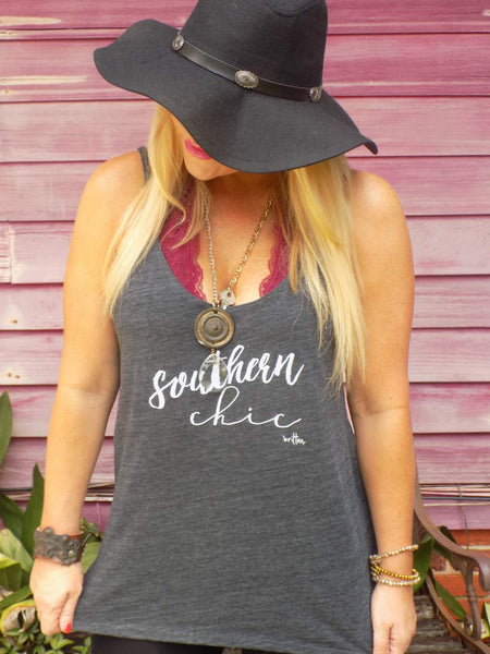Southern Chic (Skinny Strap Tank)
