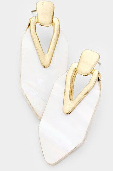 Pearly Mama Earrings - Gold