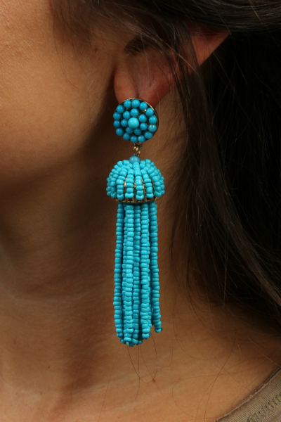 Pinata Tassel Drop {Bright Blue}