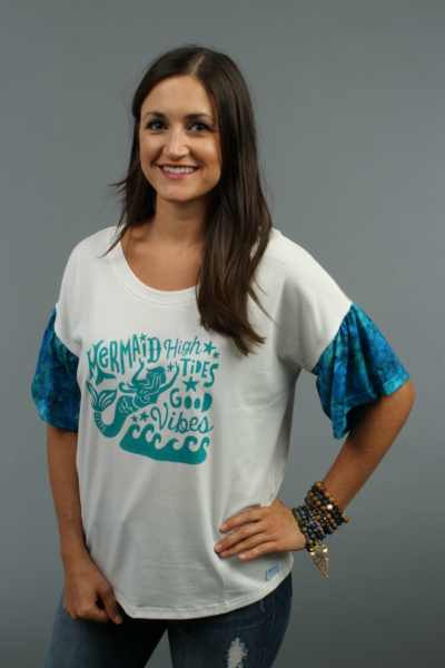Mermaid Vibes Tee by Genevieve Gail