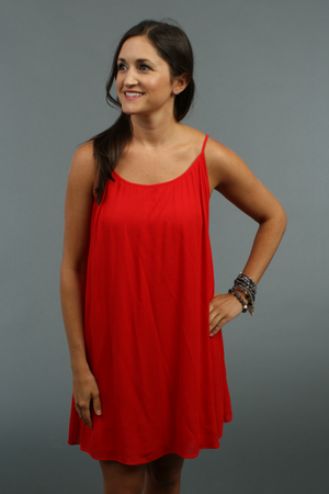 Macy Red Dress by Buddylove Clothing