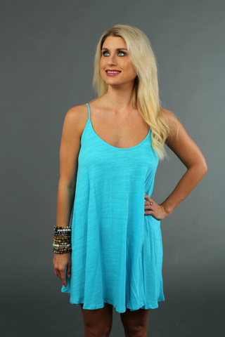 Blue Jay Bristol Dress - BuddyLove Clothing