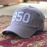 850 Panhandle Hat by (code)word - Grey